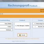 Softwarelösung für Posteingangsbuch / Postausgangsbuch - Rechnungsprofi Postbuch