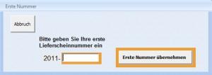 fortlaufende Rechnungsnummer, Nummernkreis, eigener Nummernkreis