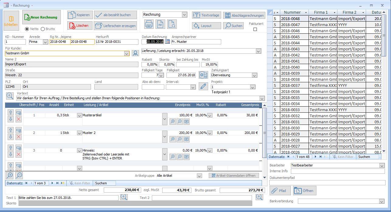 Management Und Logistik Rechnungsprogramm Kostenlos Chip